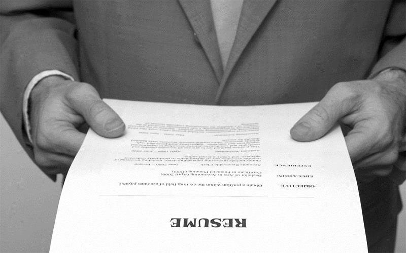 CV thể hiện sự quyết tâm xin việc
