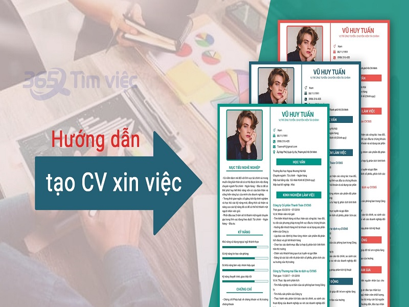 Hướng dẫn cách viết mẫu CV ấn tượng để xin việc làm thành công