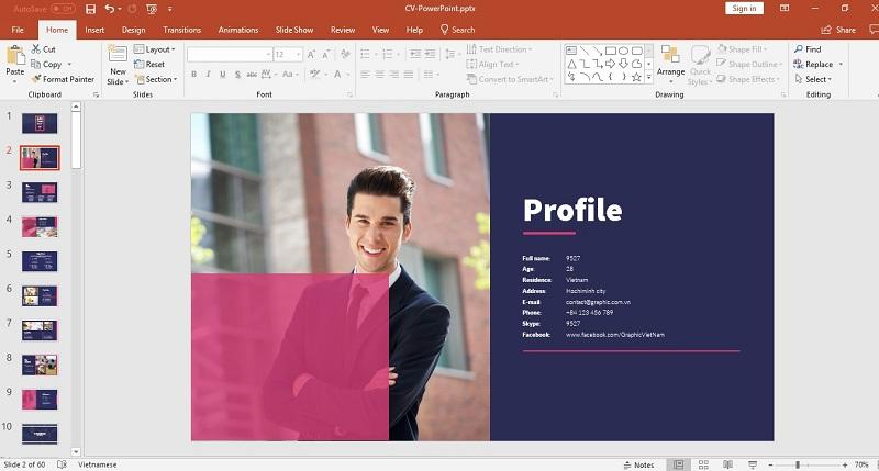 Lý do bạn nên chọn cách làm CV bằng powerpoint
