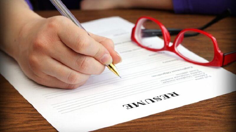CV xin việc viết tay ấn tượng cho ứng viên