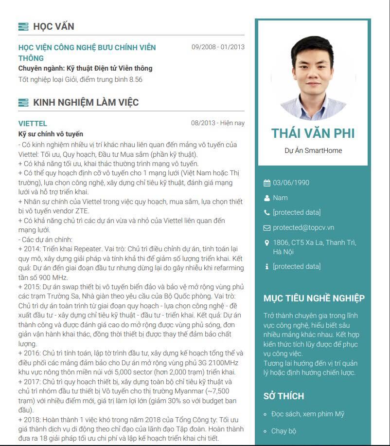 Mục tiêu nghề nghiệp của CV IT