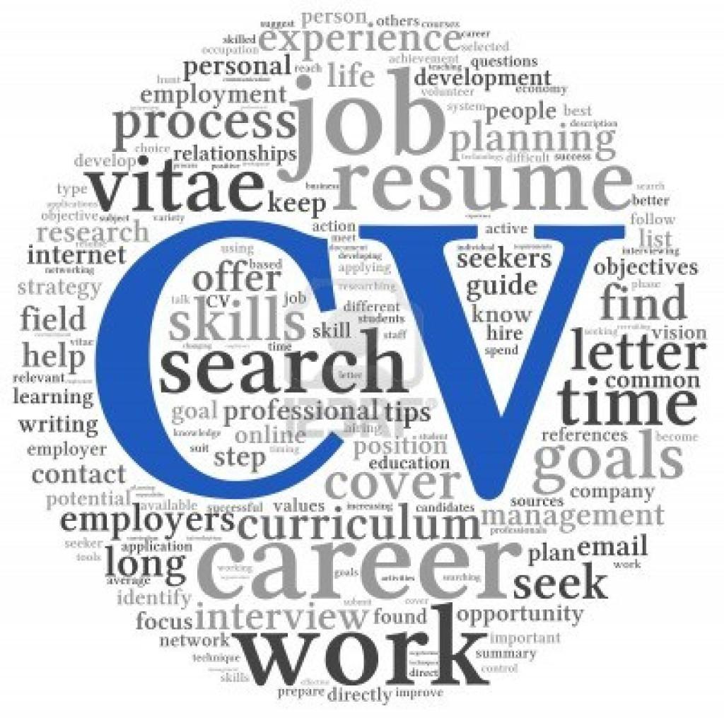 cv online mẫu