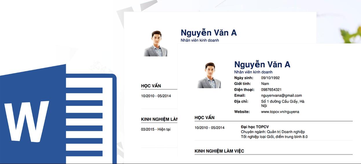 Bạn hiểu thế nào về bản CV xin việc file word