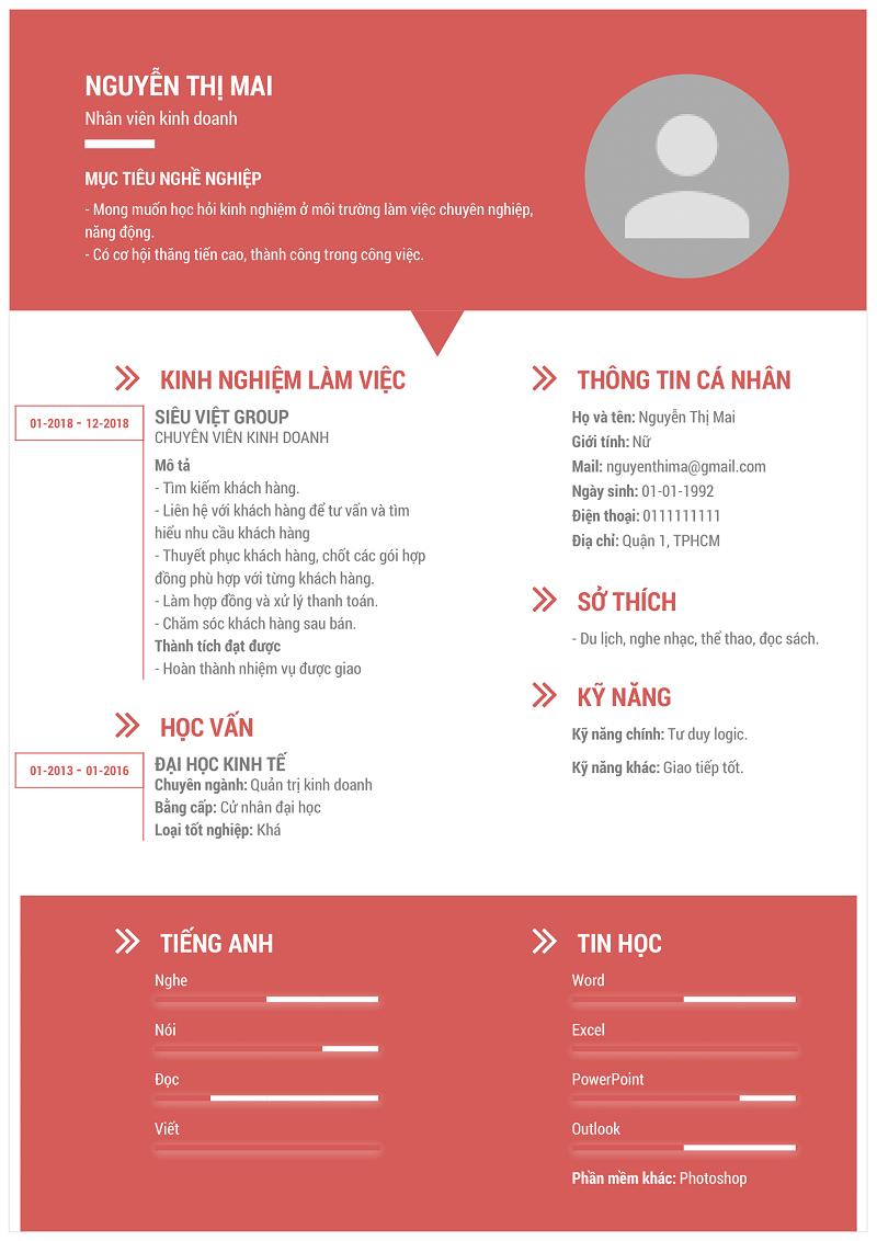Lợi ích của một CV xin việc hay đem lại là gì?