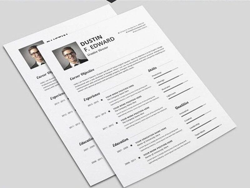 viết mẫu CV xin việc làm ấn tượng