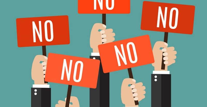 học cách nói không với những điều sau trong cv xin việc