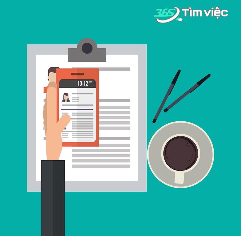 Mẫu CV xin việc tại Timviec365