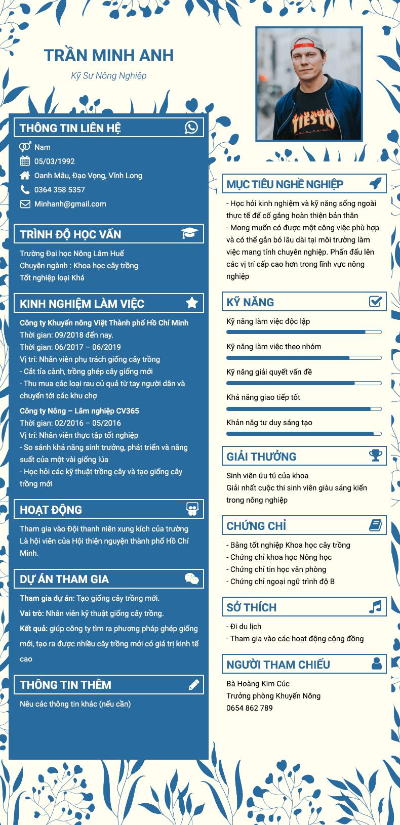 Nên viết Mẫu CV xin việc cơ bản ở đâu?