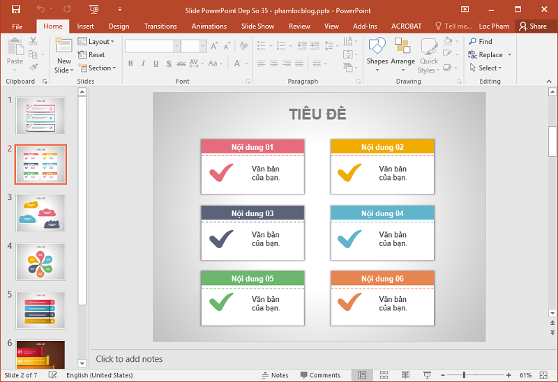 mẹo để tạo ra bản PowerPoint hiệu quả