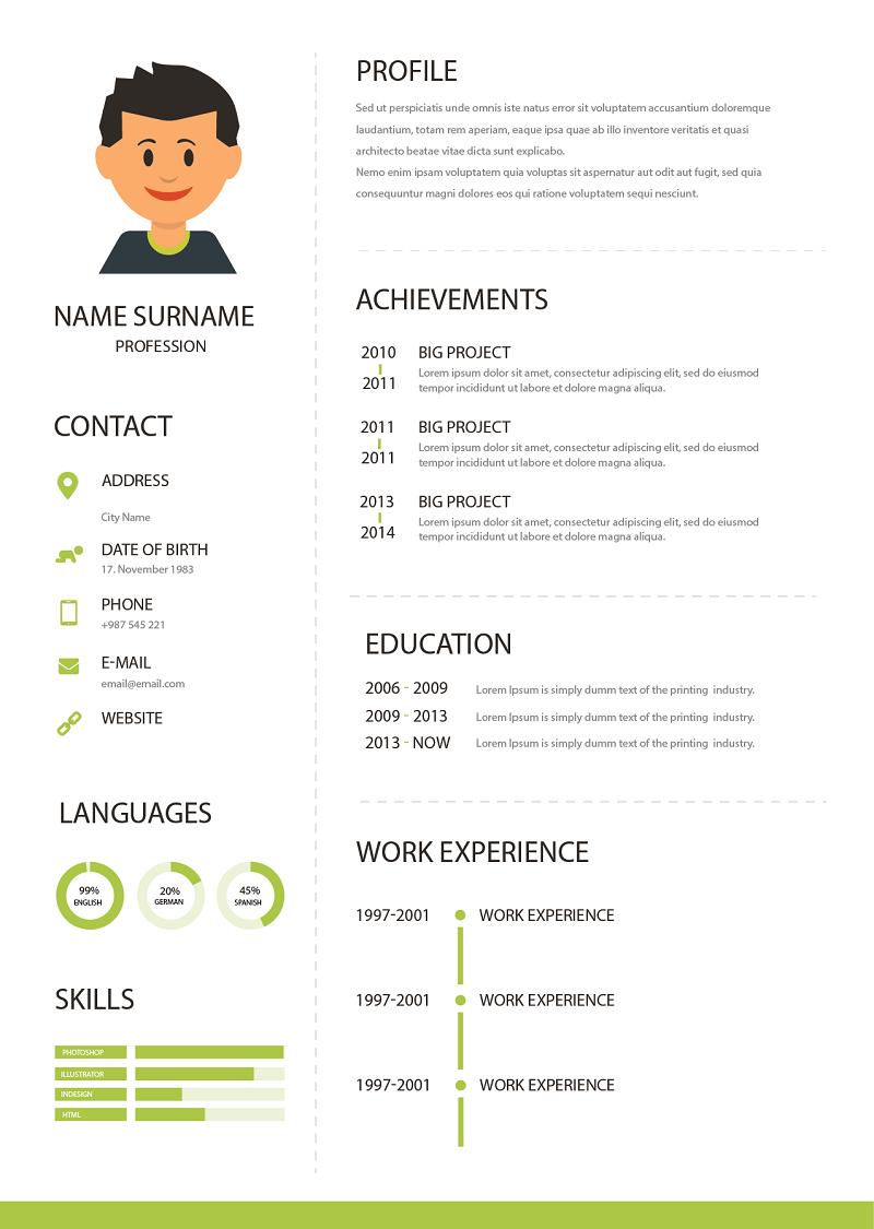 Cách tải CV đẹp với các mẫu có sẵn