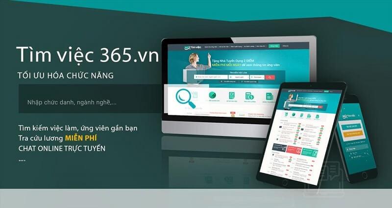 Phúc Long tuyển dụng thông qa trang Timviec365.vn