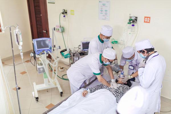 Kỹ thuật viên cấp cứu y tế