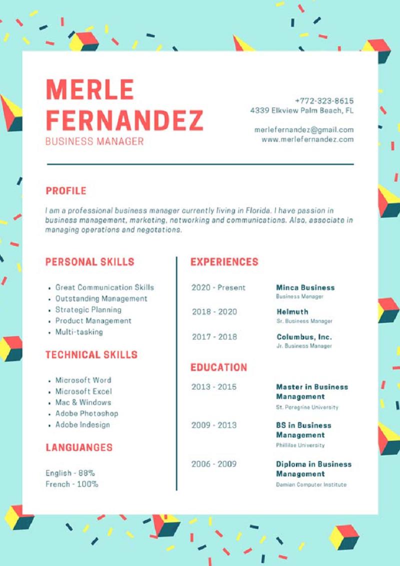 Cách định dạng và trình bày CV bằng tiếng Anh