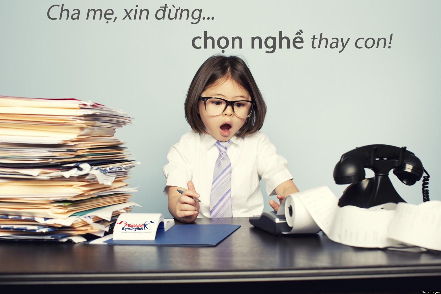 SniperOffice.com - Phụ huynh phải xác định trường hợp lý cho con mình