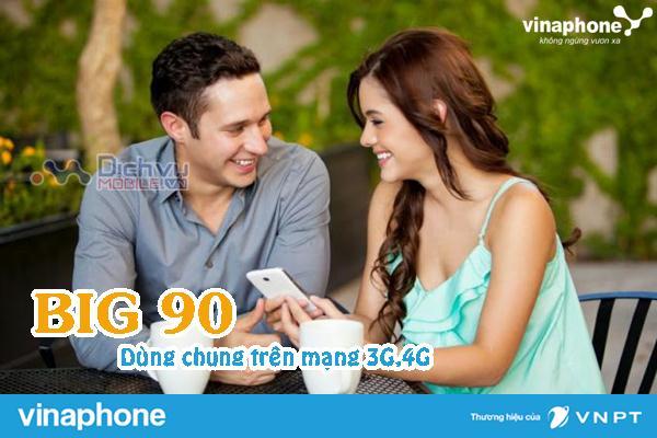 CyberShu.com - Các bước mua dịch vụ BIG 90 từ nhà mạng Vina
