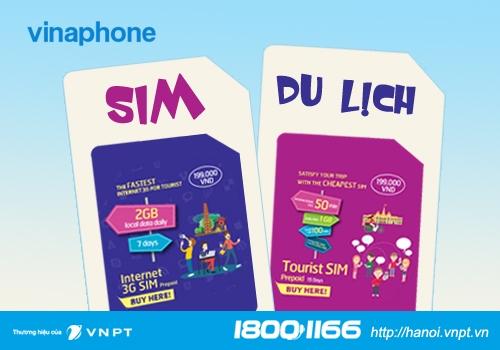 CyberShu.com - Nhà mạng Vina tung ra gói SIM Tourist