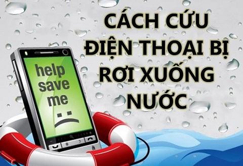 RedZoneBlog.com - Các cách cứu vớt điện thoại khi mà rớt xuống dưới nước