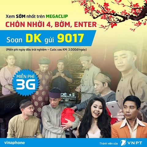 OneTopics.com - Đón Xuân với dịch vụ MegaClip Vinafone