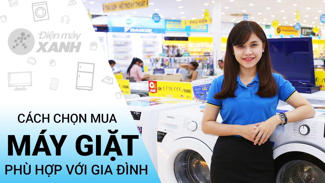 SockVideo.com - Hướng dẫn lựa mua máy giặt qua mạng