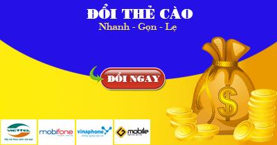 CyberShu.com - Đổi thẻ Viettel qua VinaFone, Mobi Fone, Vietnamobile