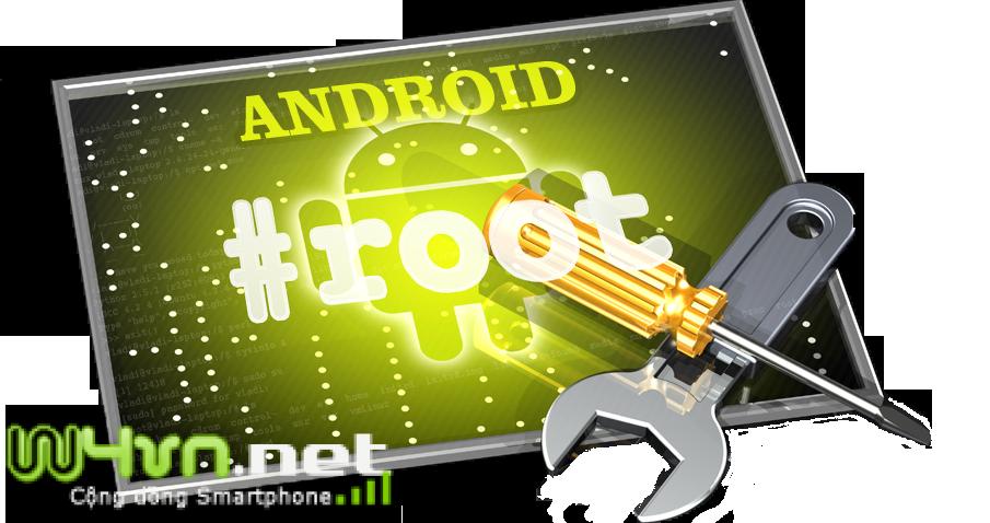 HotnewsWork.com -  Các bạn root smartphone androi cần nắm bắt