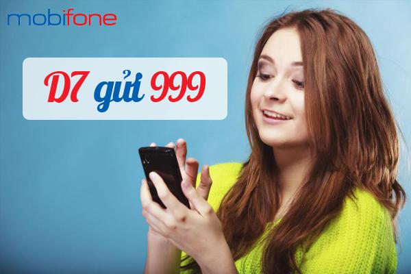 Đăng ký gói cước 3G D7 của Mobifone siêu đơn giản