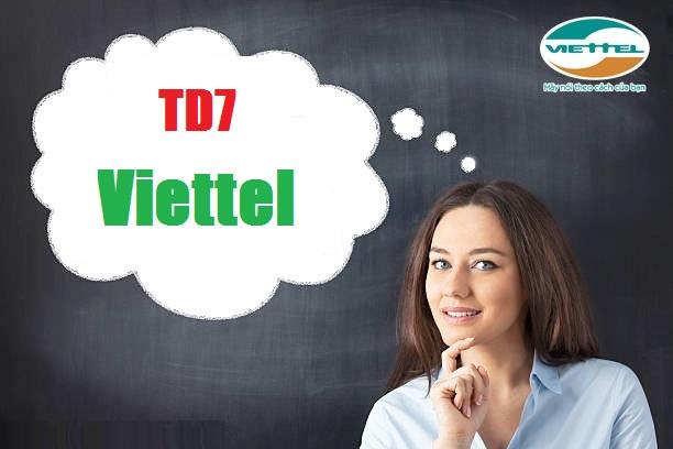 Cụ thể cách hủy nhanh gói TD7 của Viettel đơn giản nhất