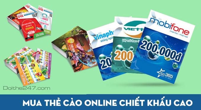 KingPublic.com - Tiêu chí để chọn lựa trang web mua thẻ đt online giá rẻ đáng tin cậy hiện nay?