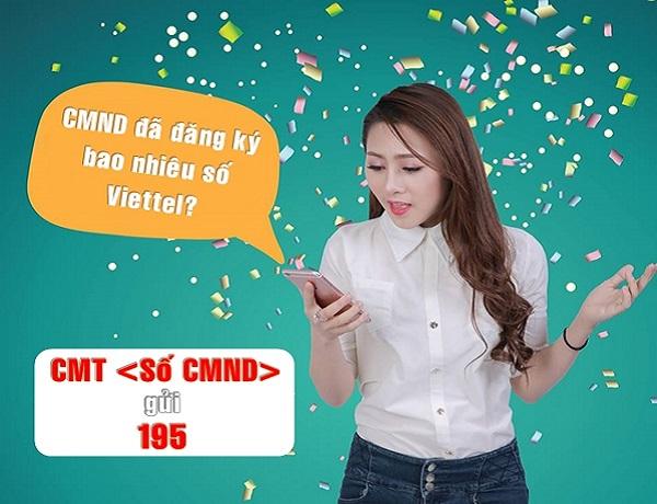 Bạn có biết CMND của mình đã đăng ký bao nhiêu sim Viettel?