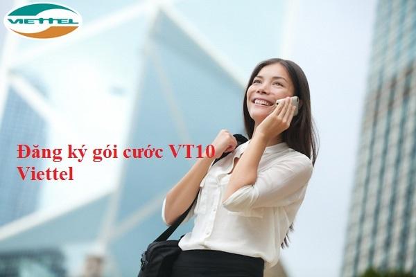 Đăng ký gói VT10 Viettel – Ưu đãi 90p, 900MB dùng trong ngày
