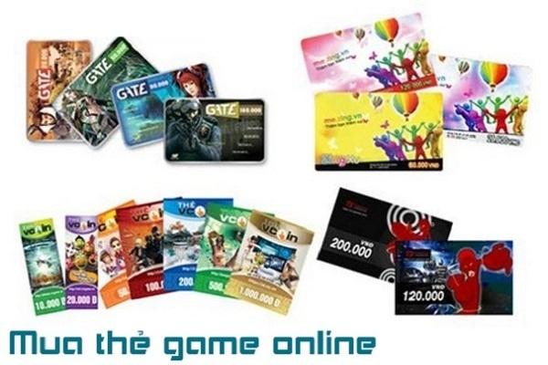 Cách đơn giản nhất hỗ trợ người chơi mua thẻ game online hiện nay