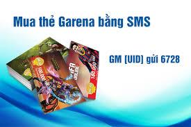 Mẹo mua thẻ garena bằng SMS cực nhanh bạn nên biết