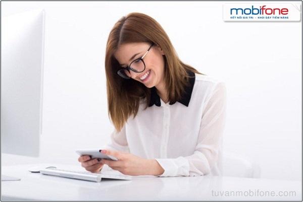 Cách mua thêm data 3G Mobifone bằng TKC, TKKM
