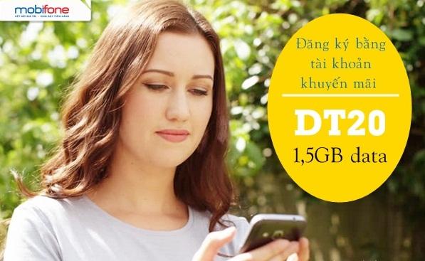 Chi tiết cách đăng ký gói cước DT20 Mobifone