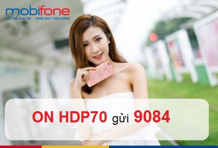 Chi tiết cách đăng kí gói HDP70 Mobifone đơn giản, thuận tiện