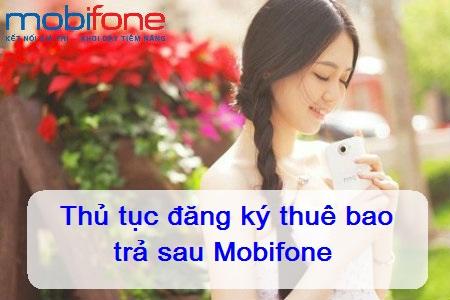Điều cần biết khi tham gia hòa mạng trả sau mobifone
