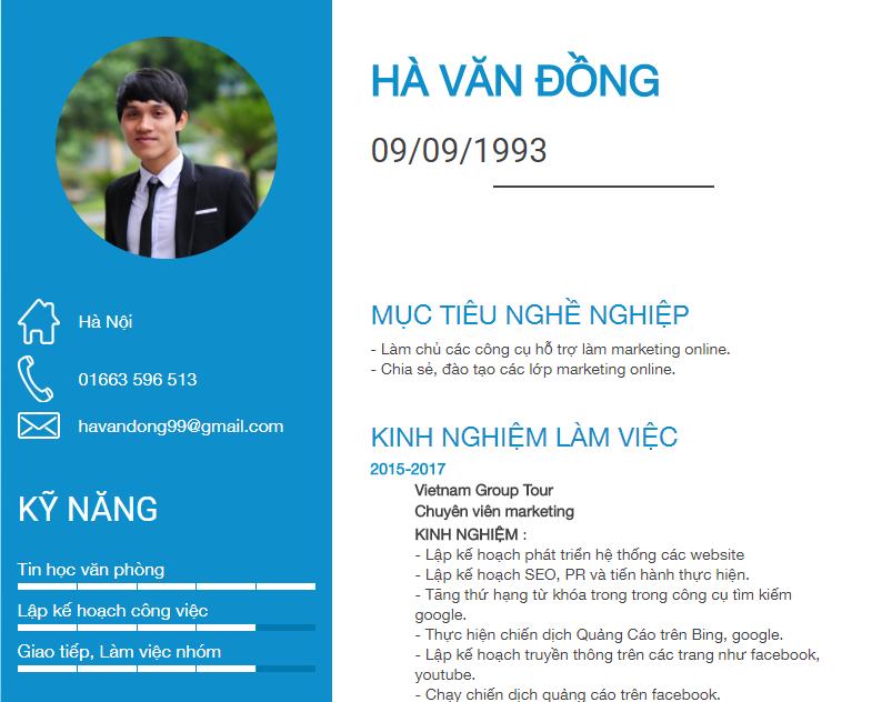 Hướng dẫn tạo cv online free thu hút nhà tuyển dụng