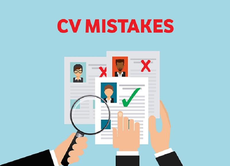 Top 10 lỗi viết CV phổ biến cần tránh