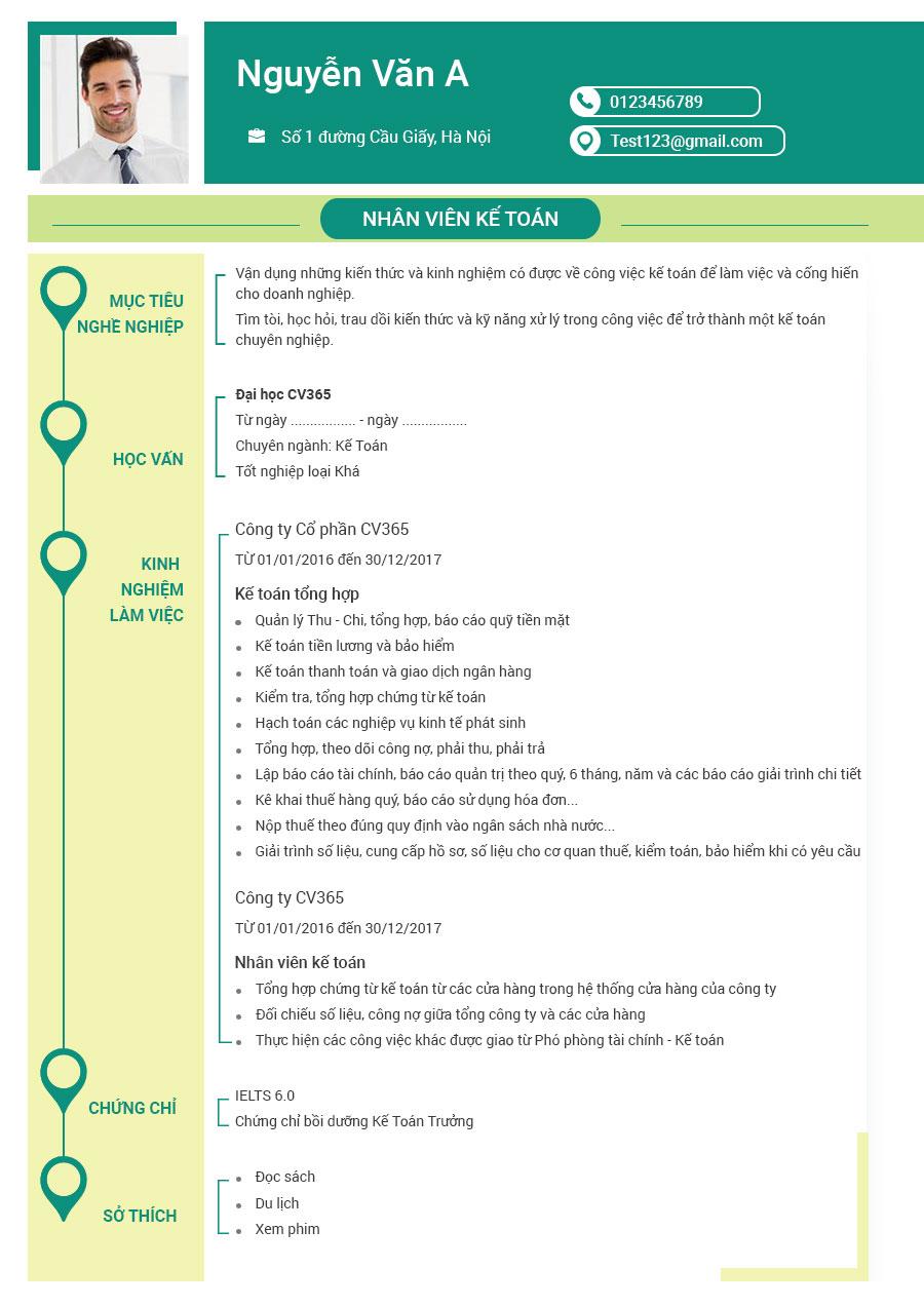 Hướng dẫn bạn cách viết CV xin việc giáo viên tiếng Anh