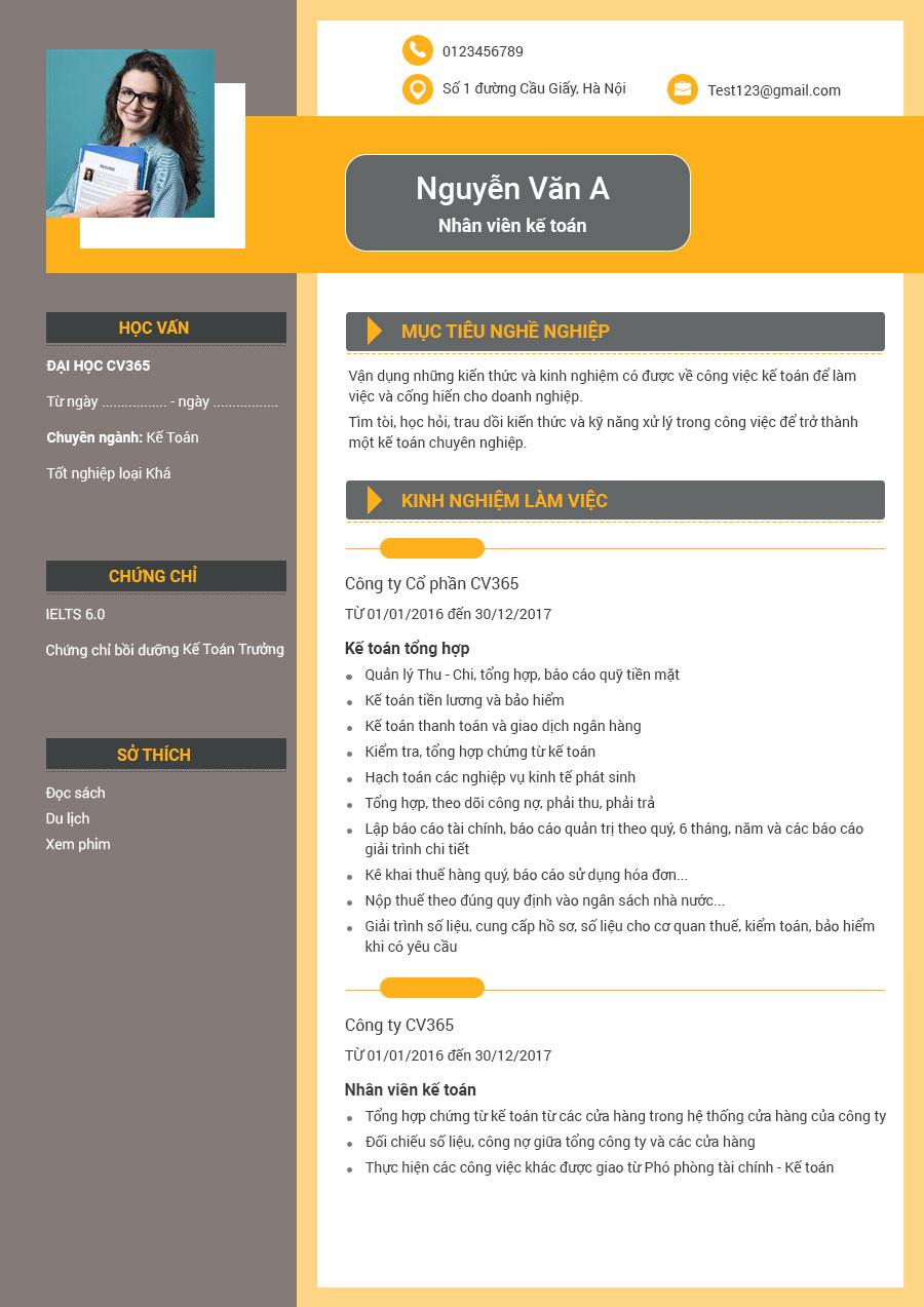 CV xin việc phục vụ chuẩn và những điều bạn cần biết